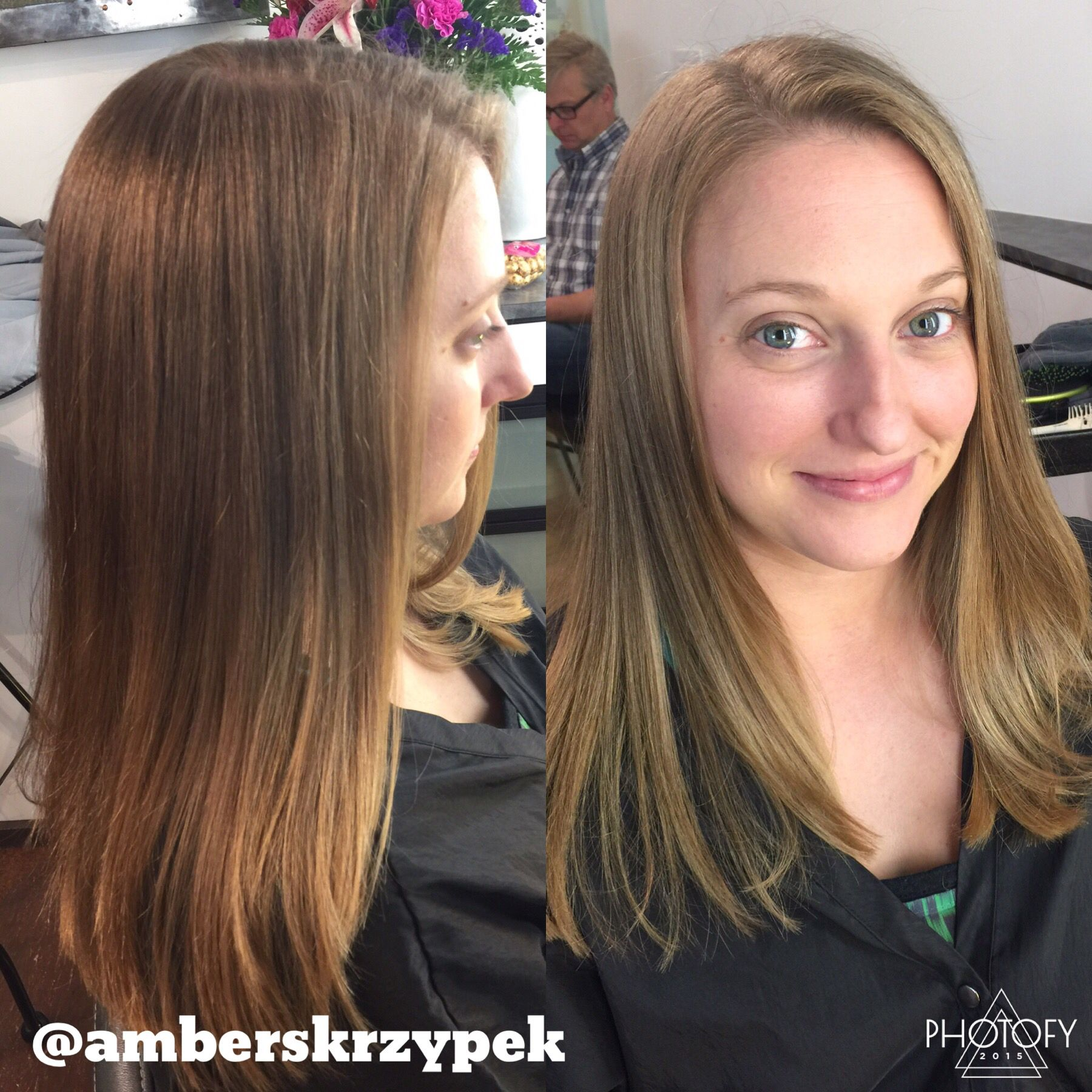 In Love With This Buttery Blonde Created With Keune Hair Color No Bleach On Virgin Hair Used A Balayage Method Buttery Blonde Hair Styles Long Hair Styles