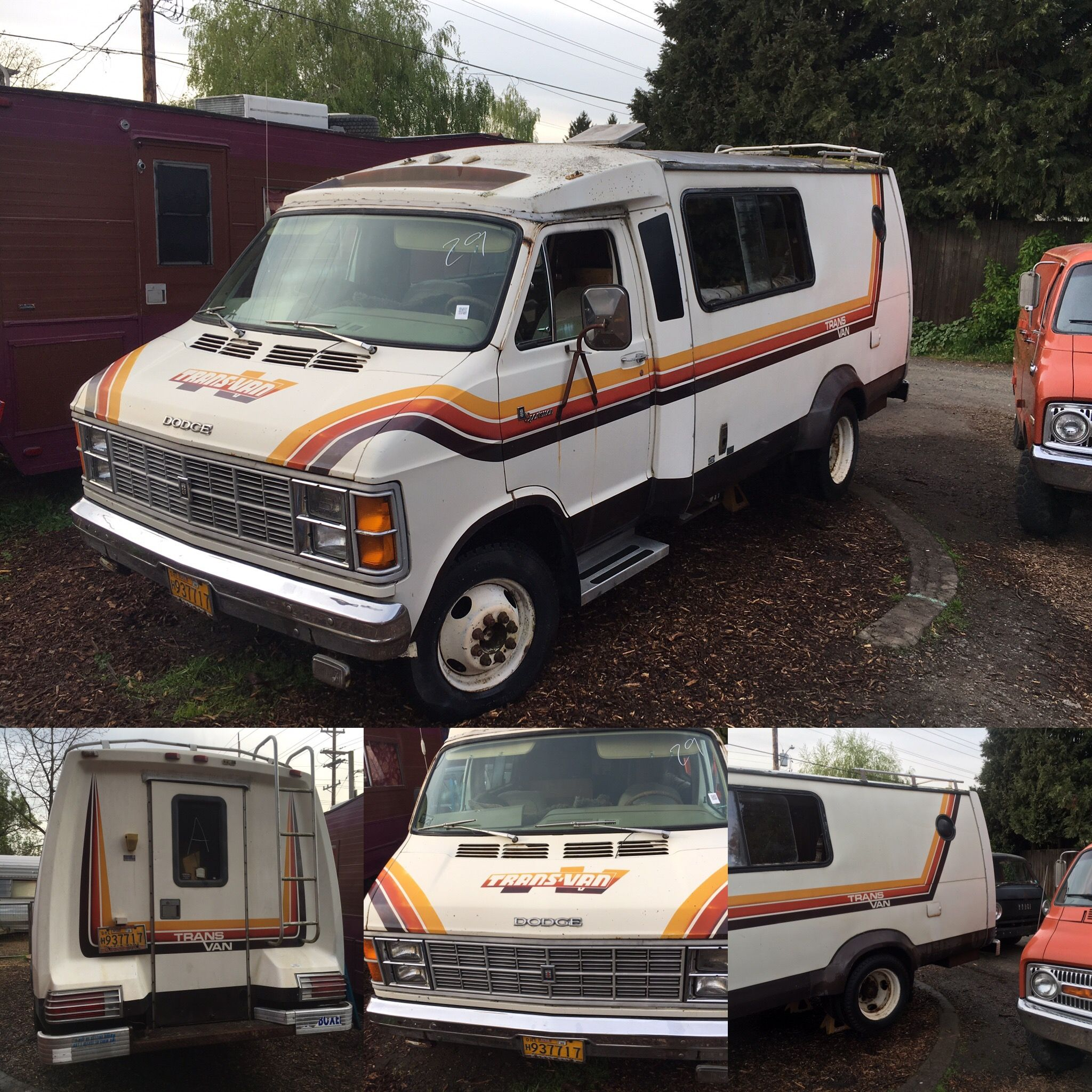 FOR SALE 1979 Dodge Transvan $3500
