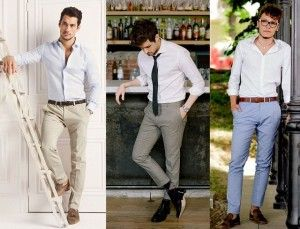 How to match dress shirts with pants