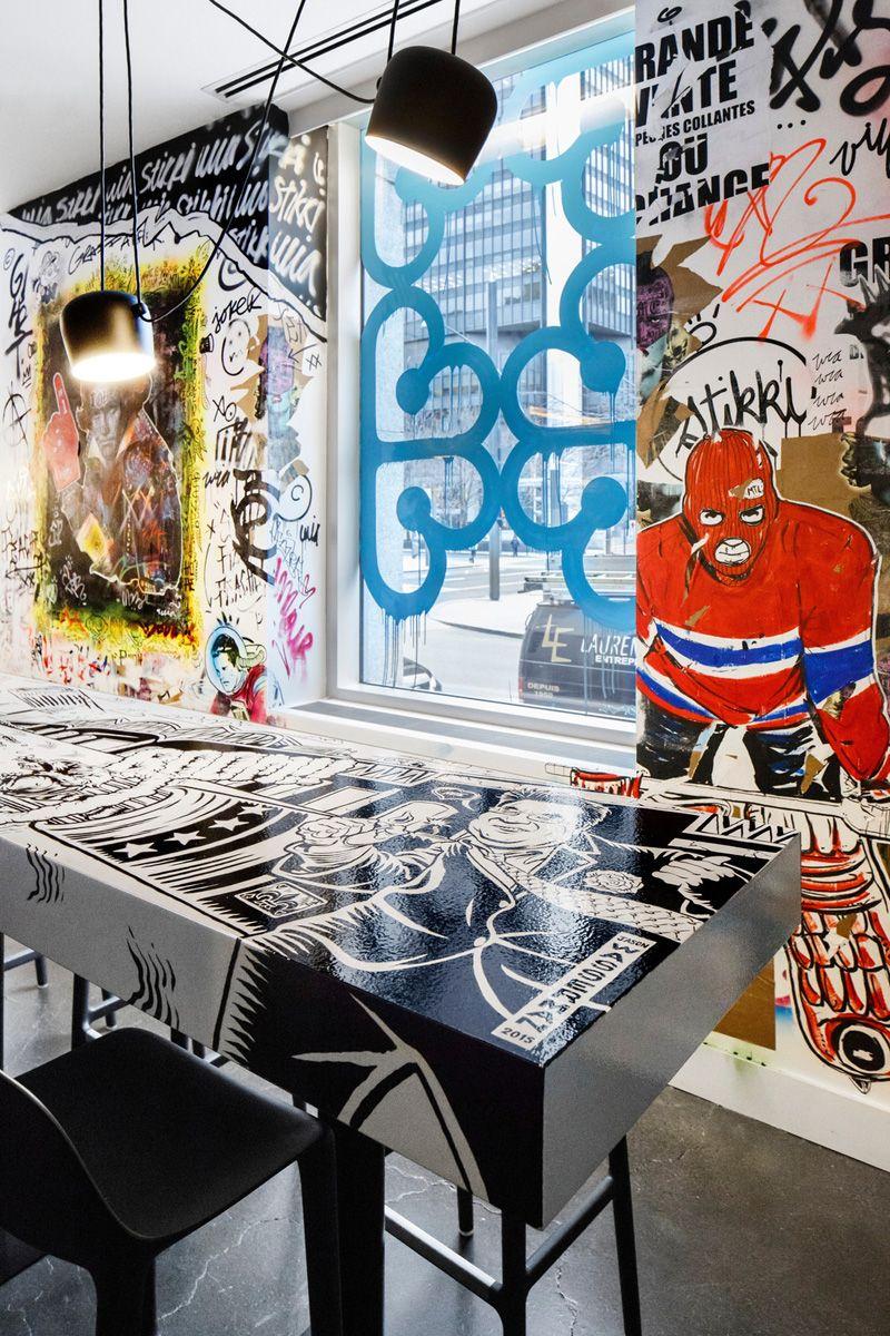 Graffiti wall cambridge - Architecture Interiors