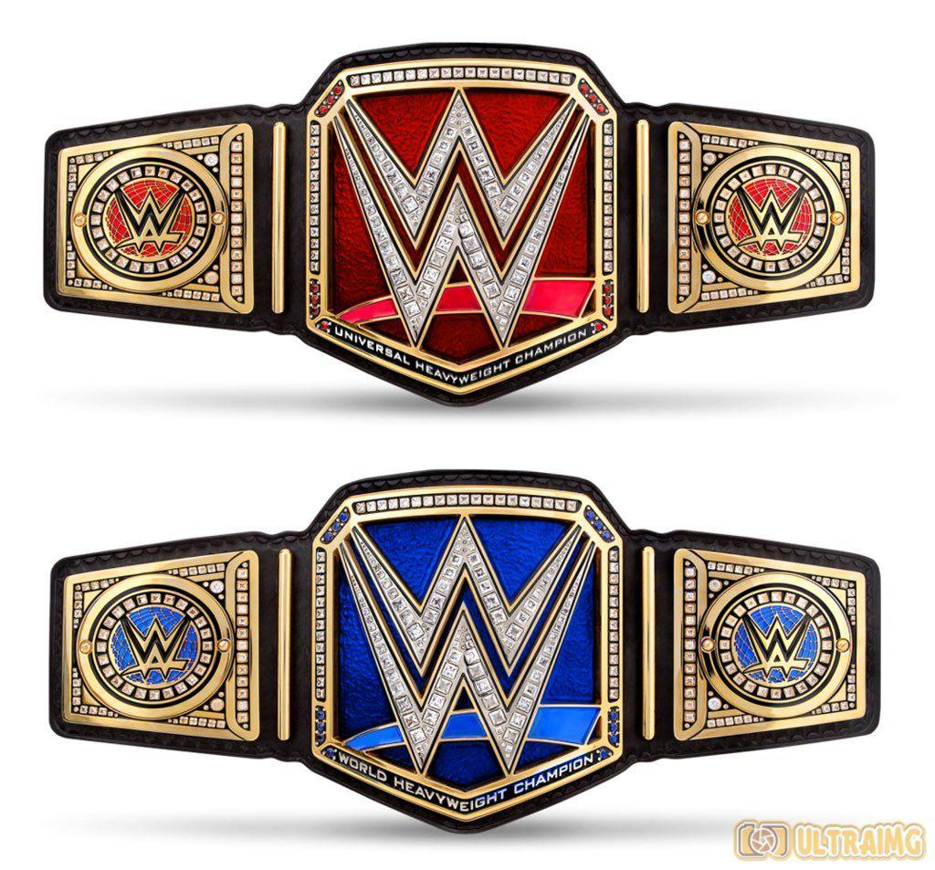 Is This The Wwe Universal Championship Smarkson Wwe Women S Championship Wwe Belts Wrestling Wwe
