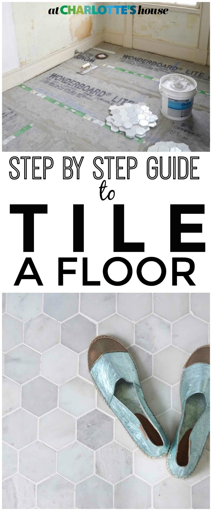 Photo of How to Prep and Tile a Floor – At Charlotte's House