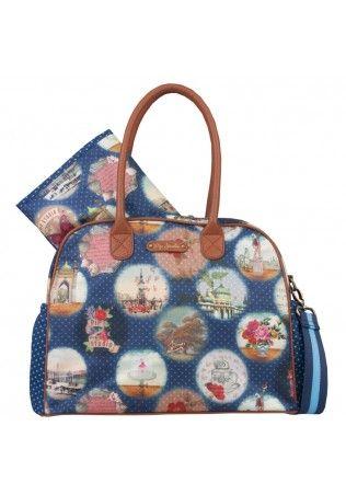 Pip Studio Baby Bag Blauw   Tassen, Blauw, Baby's