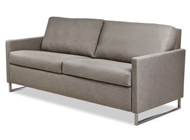 American Leather Breckin Comfort Sleeper Sectional Family Room