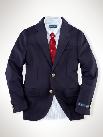 f2e04b09 Wool Brass-Button Blazer - Boys 2-7 Suits & Sport Coats ...