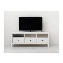 Hemnes Banc Tv Teinté Blanc Meubles Tv Meuble Télé
