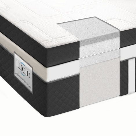 14 Plush Memory Foam Mattress 3 Layers For Ultimate Comfort And