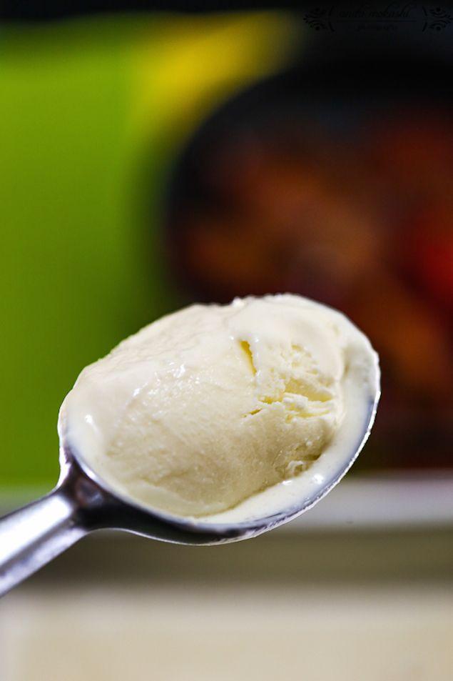 Sour Cream Ice Cream No Machine Required Sour Milk Recipes Ice Cream Recipes Machine Homemade Sour Cream