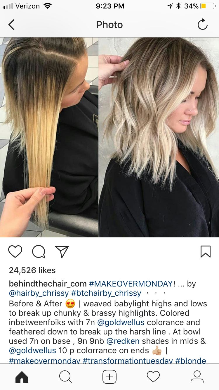 Before And After Awesomeness Hair Styles Balayage Hair Hair Color Formulas