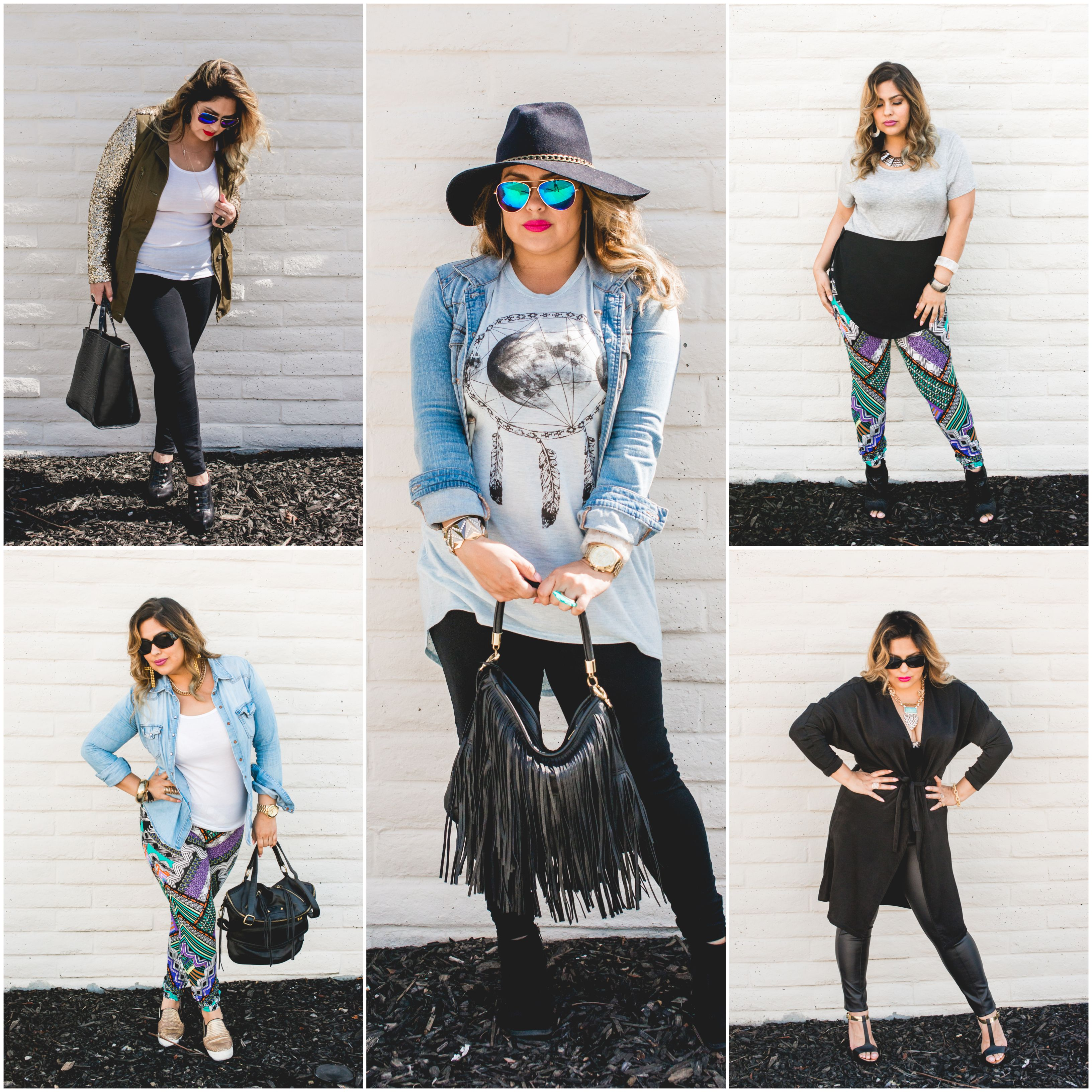 5 WAYS TO WEAR THE HELL OUT OF THOSE STRETCHY PANTS!