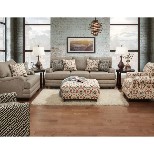 Great Mocha Living Room Set | Brianu0027s Furniture