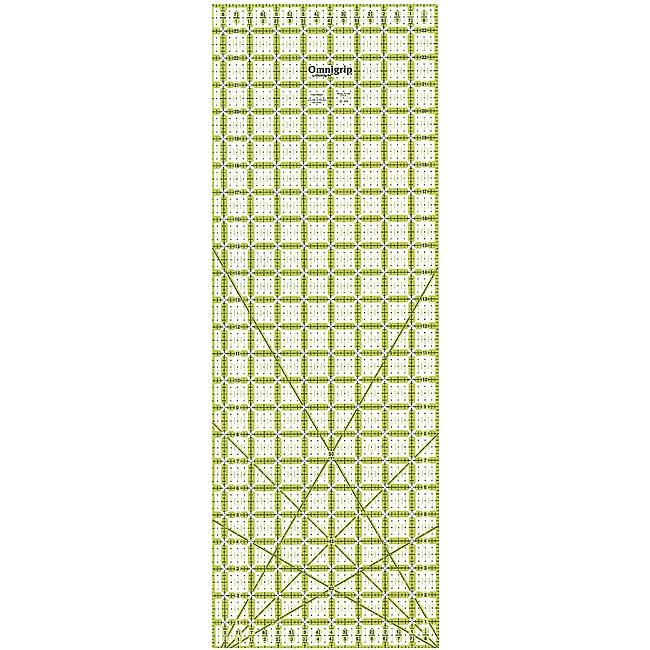 DRITZ Omnigrip Non-Slip Quilter's Ruler - 8-1/2X24