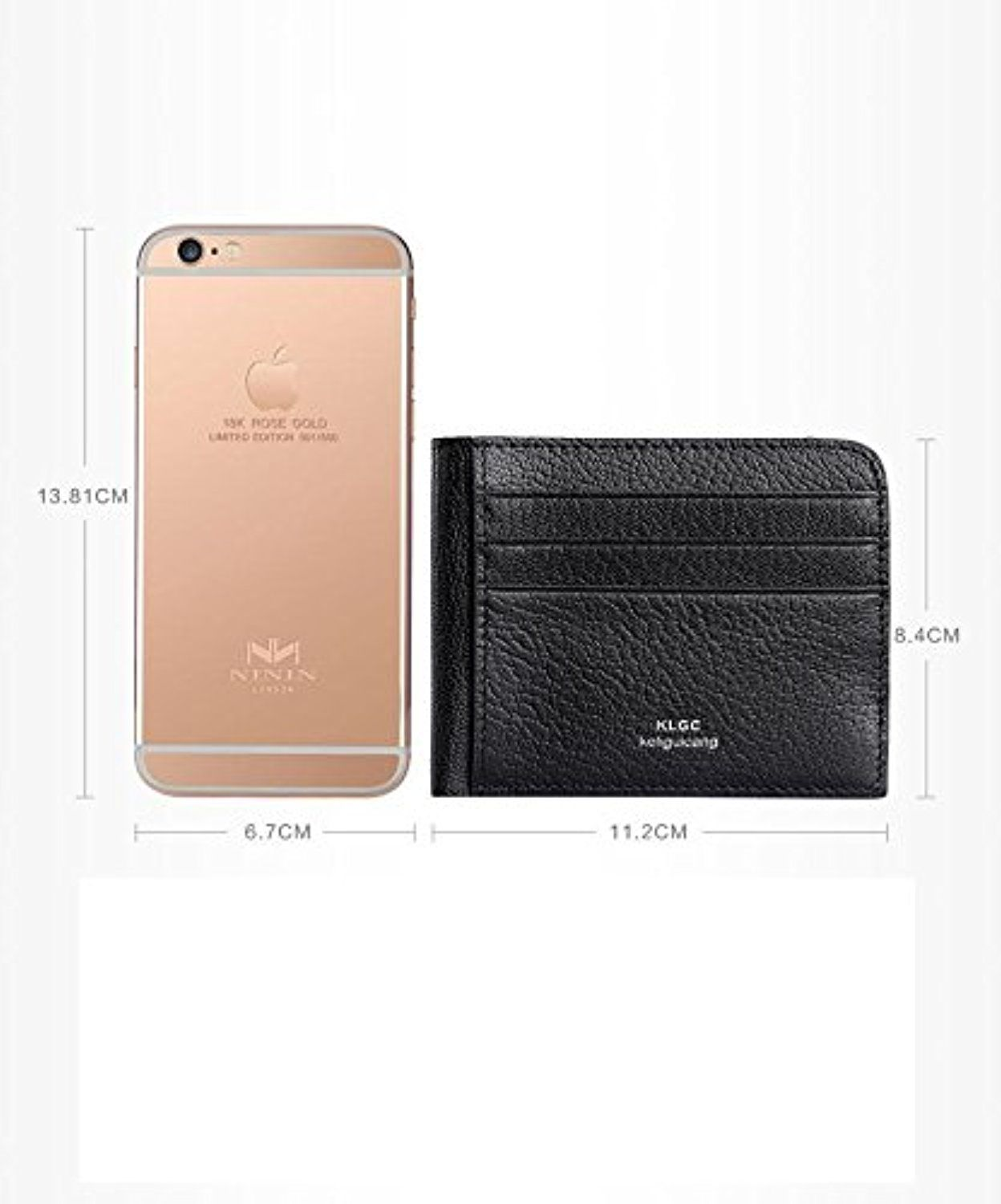 Unisex leather thin credit card holder slim business card case super unisex leather thin credit card holder slim business card case super soft minimalist wallet with money colourmoves