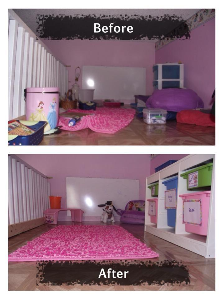 Bedroom Organization