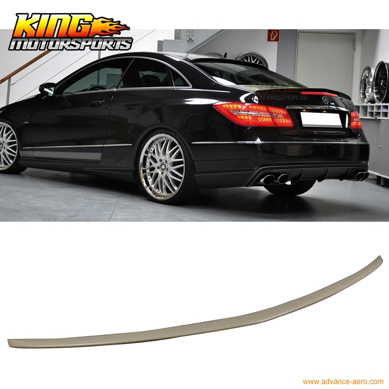 72.20$  Watch here  - For 10-16 Benz C207 2D E Class A Style Rear Trunk Spoiler ABS Painted Matte Black