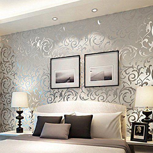 [US Stock]HOMDOX Paper Textured Wallpaper,Modern Wallpaper for Bedroom,Wallpapers for Walls 33 x 1.74ft Homdox http://www.amazon.com/dp/B01AY0HTEK/ref=cm_sw_r_pi_dp_pWKZwb0GWCP2P