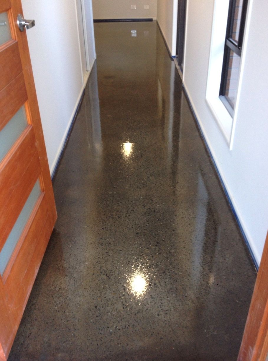 A Simple Grind And Seal Completed By Grind Seal This Is Our Most Economic Polished Concrete Option Enq Polished Concrete Concrete Floors Concrete