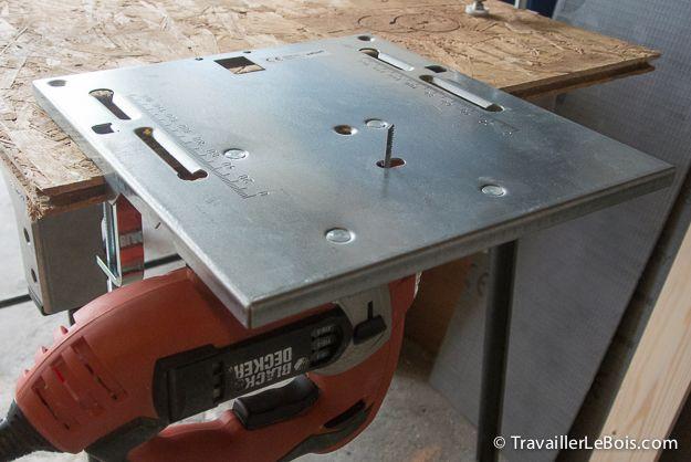 Table De Scie Sauteuse Wolfcraft  Materiel Bois