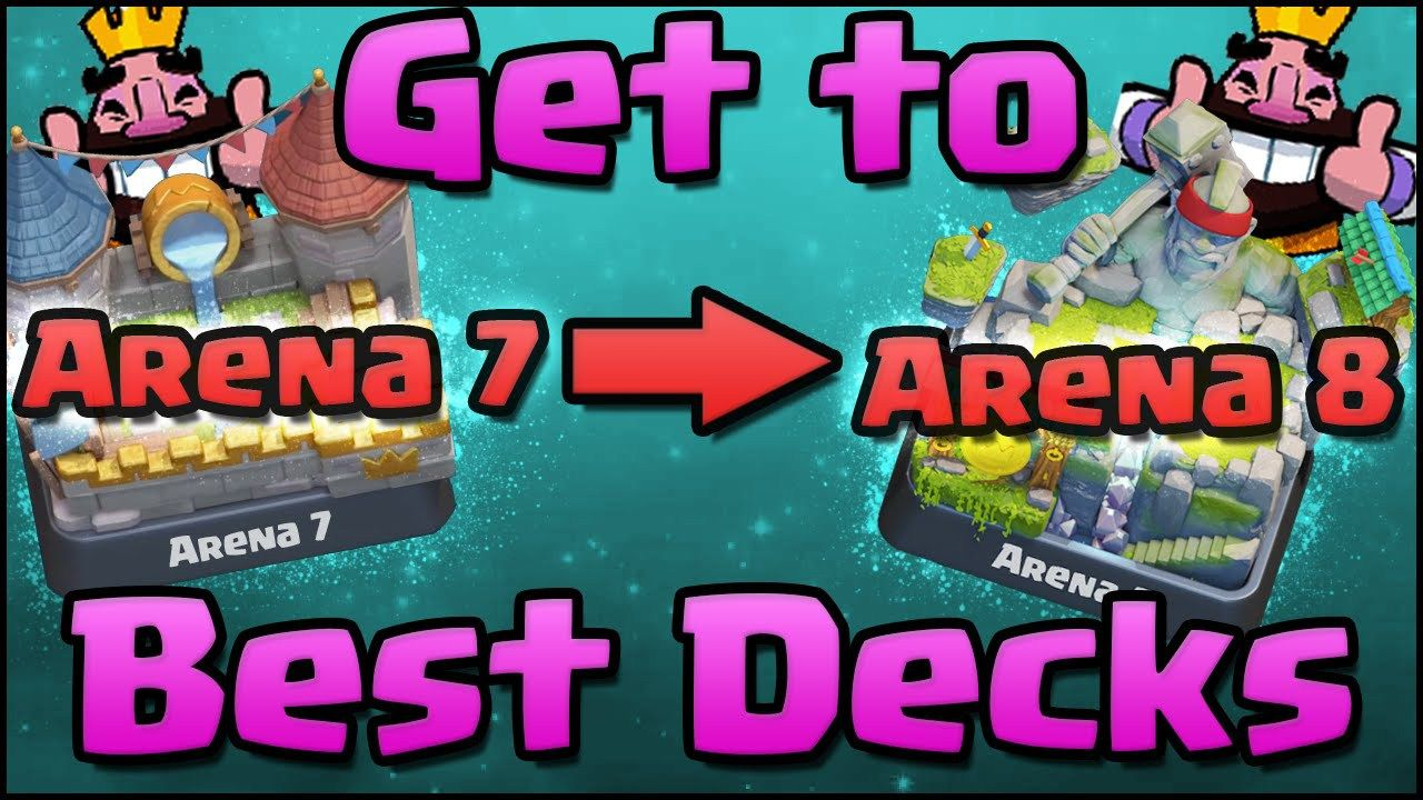 Check Out The Best Clash Royale Arena 7 Deck And Strategy To The Arena 7 This Is The Ultimate Deck Which Can Make You Win Eve Clash Royale Cool Deck Free Gems