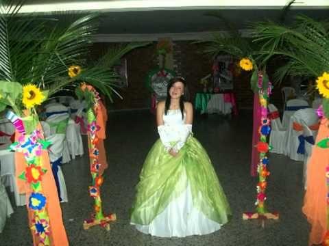 008209351 Decoración fiesta XV años hawaiana adultos - Imagui
