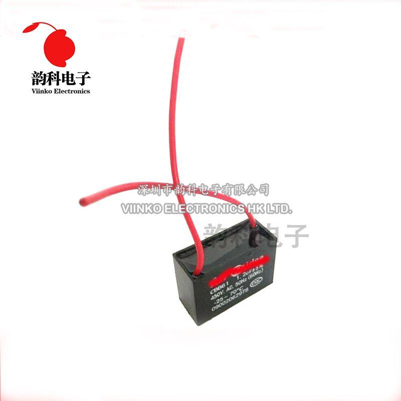 2 Unids Lote Cbb61 Condensador De Arranque 1 Uf 1 2 Uf 1 5 Uf 2 Uf 2 5 Uf 3 Uf 3 5 Uf 4 Uf 5 Uf 6 Uf Ac Condensador Del Ventilado Capacitors Passive Components