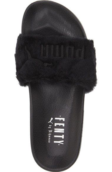 d85be44e512c Free shipping and returns on PUMA by Rihanna  Leadcat Fenty  Faux Fur Slide  Sandal (Women) at Nordstrom.com. This fuzzy slide sandal represents the  latest ...