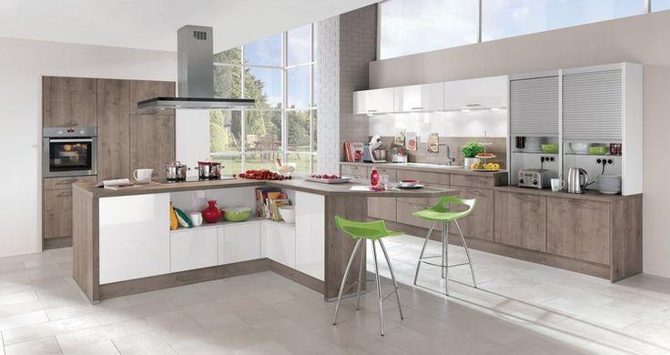 awesome Idée relooking cuisine - modèle de cuisine moderne avec