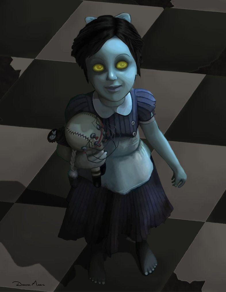 little sister Little Sister - Bioshock by DausenMoore-Art.deviantart.com on @DeviantArt