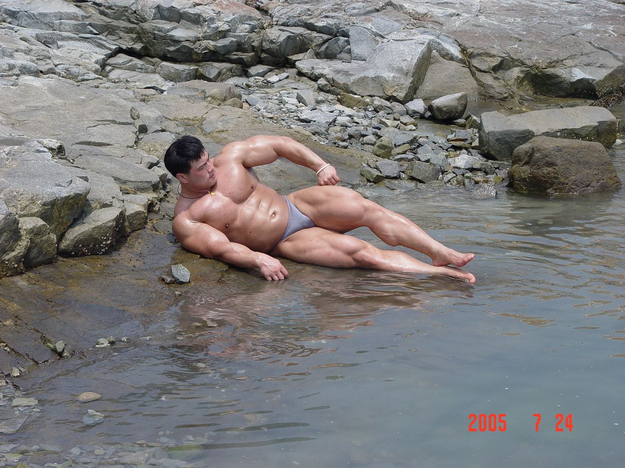 Kang In Su (강인수, Korean Bodybuilder)