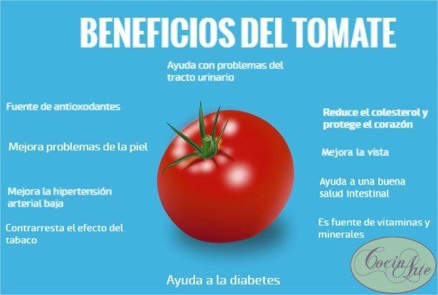 Conoce los beneficios del tomate para mejorar tu salud