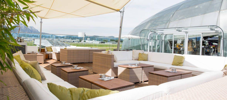 Sommerfeeling Auf Der Hangar 7 Outdoor Lounge | Salzburg   Die Schönste  Sunset Bar Im
