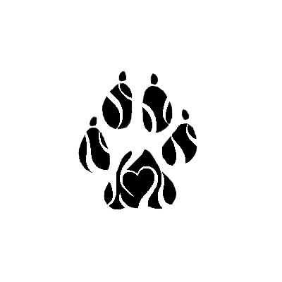 Tribal Paw Tattoo by lachandelle.deviantart.com on ...