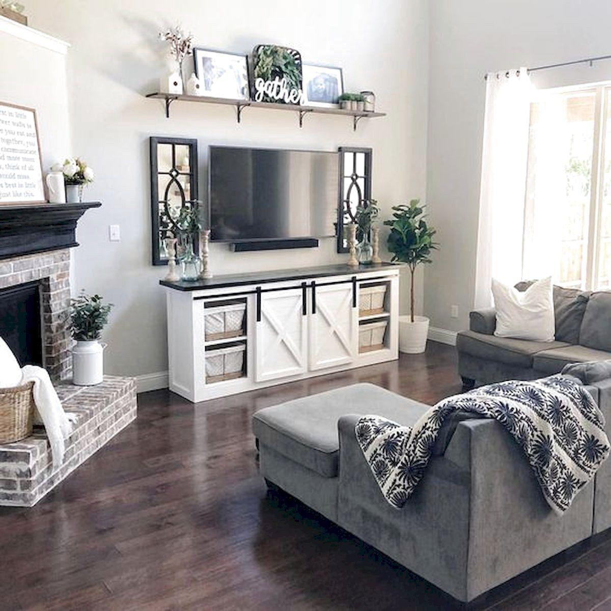 101 Best Farmhouse Living Room Decoration Ideas Home Ga