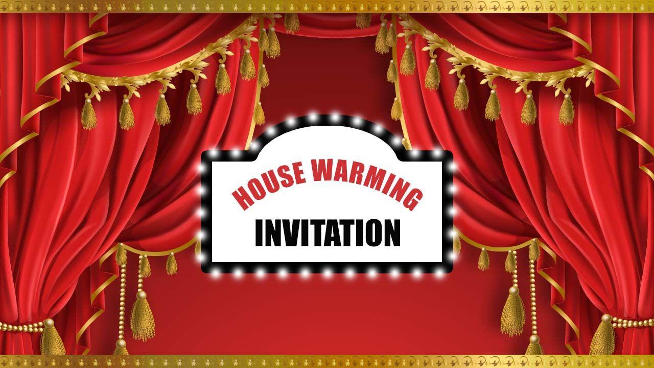 Housewarming Invitation Video Maker House warming