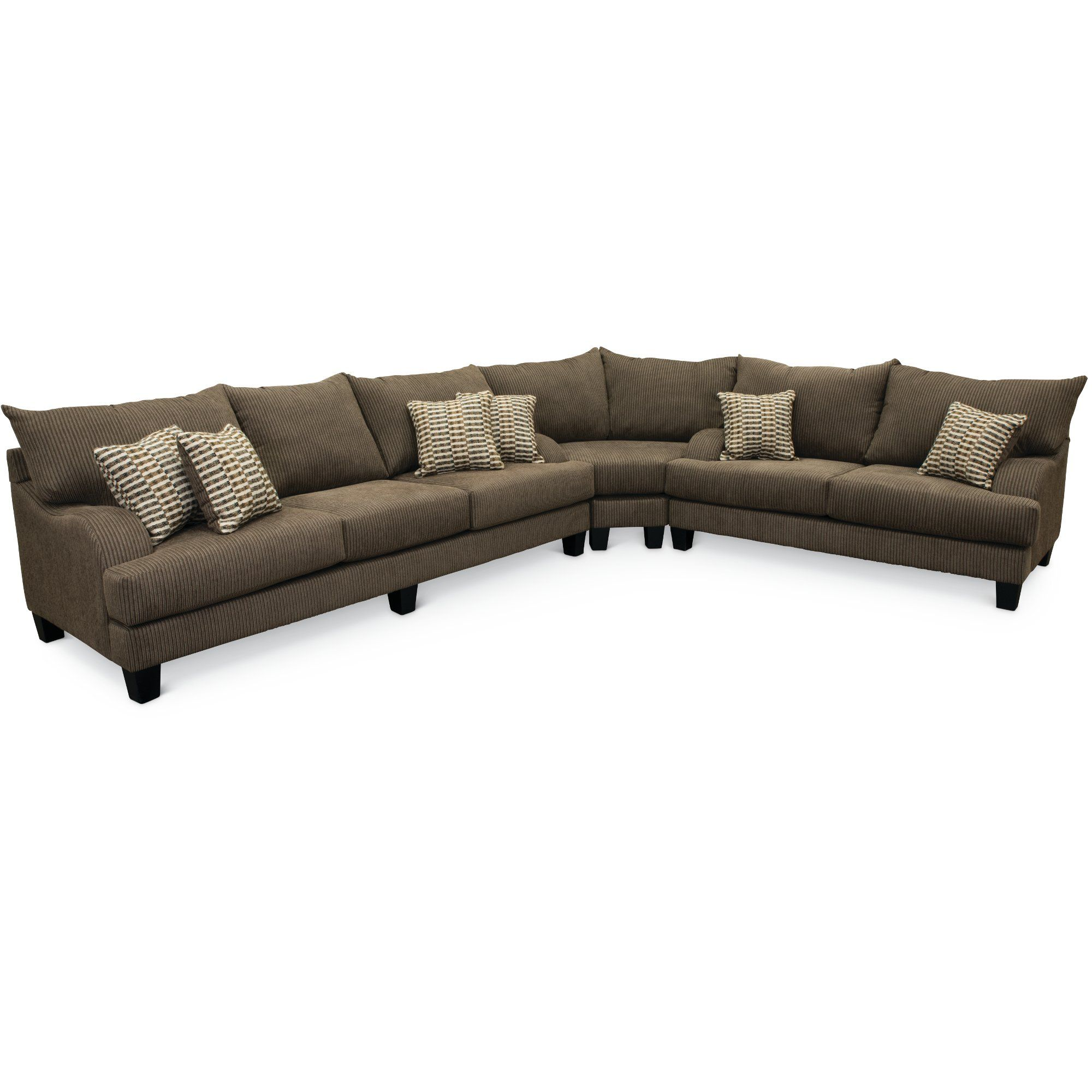 Marvelous Contemporary Dark Gray 3 Piece Sectional Sofa Laguna Alphanode Cool Chair Designs And Ideas Alphanodeonline