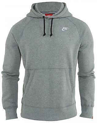 Mens Ace Hoodie Pullover Grey 066 Nike Fleece 598707 Hoody NnwO0Pk8X