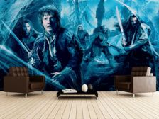 Bilbo Baggins, Thorin and The Company mural wallpaper