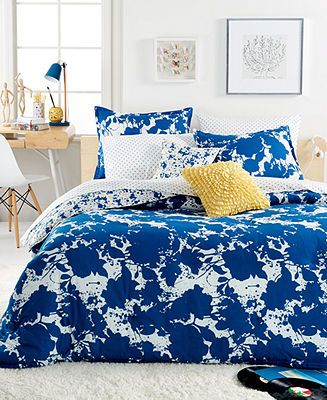 Teen Vogue Something Blue Comforter Sets - Bed in a Bag - Bed & Bath - Macy's
