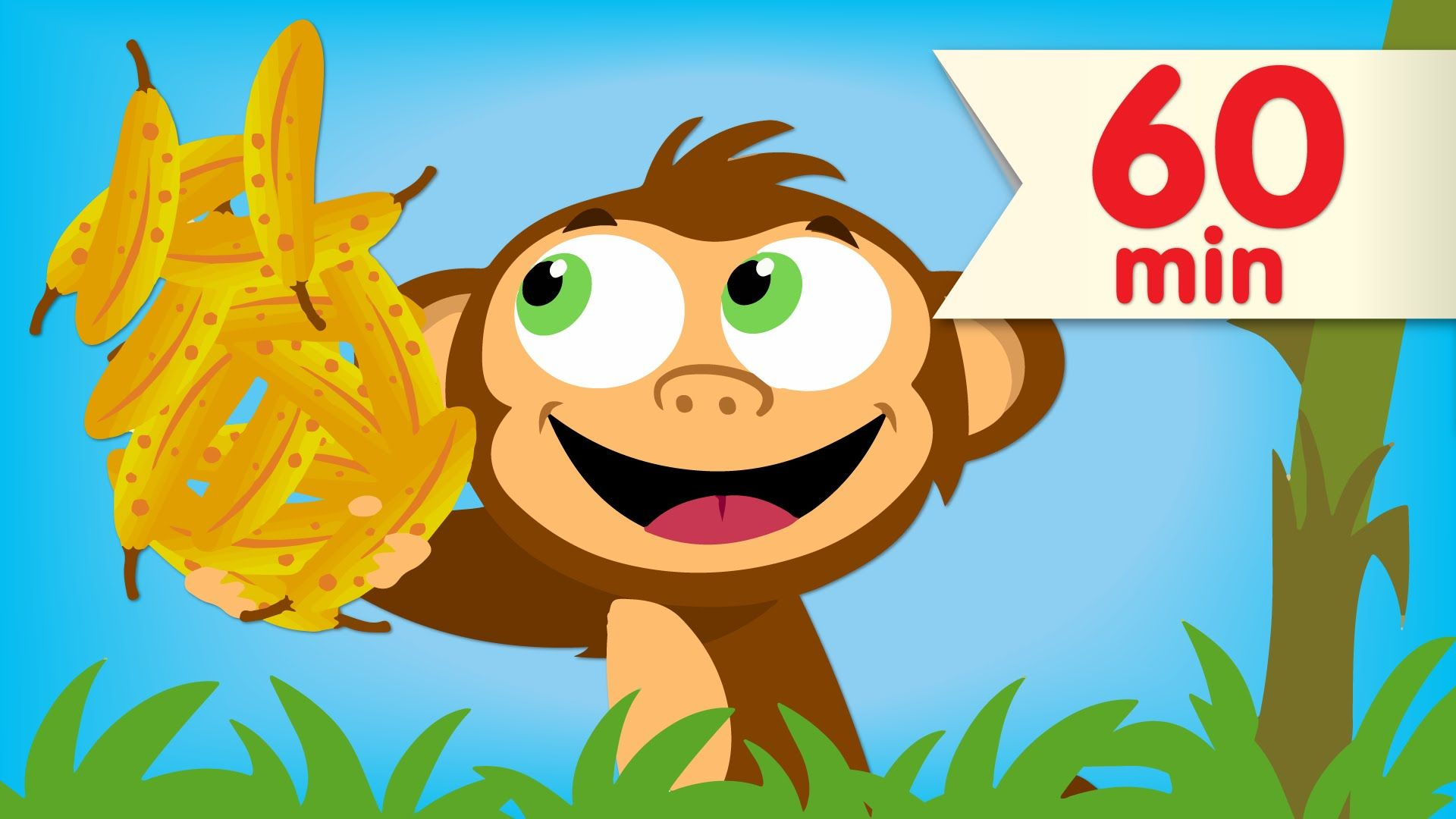 Practice Counting To 20 With A Pair Of Funny Monkeys In