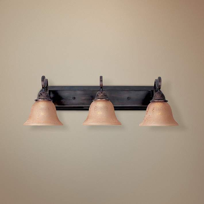 Photo of Symphony Oil-Rubbed Bronze 26″ Wide Bathroom Fixture – #49454 | Lamps Plus