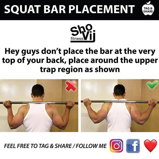 SQUAT BAR PLACEMENT ⚡ U2014u2014u2014u2014u2014u2014u2014u2014u2014u2014u2014u2014u2014u2014u2014u2014 Donu0027t Place Right At The Top, Place  Bar Around The Trap Area, Youu0027ll Find Theres Abit Of Cushion There So  Doesnu0027t ...