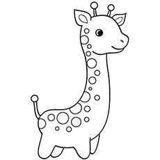 Top 20 Free Printable Giraffe Coloring Pages Online Giraffe Free