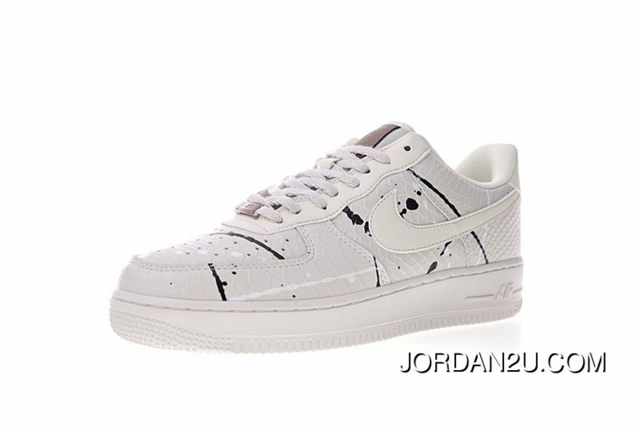 a420c8c6dbe Built-in 4 3 Sole Zoom Nike Womens Air Force 1 07 Lux Snakeskin Ink ...