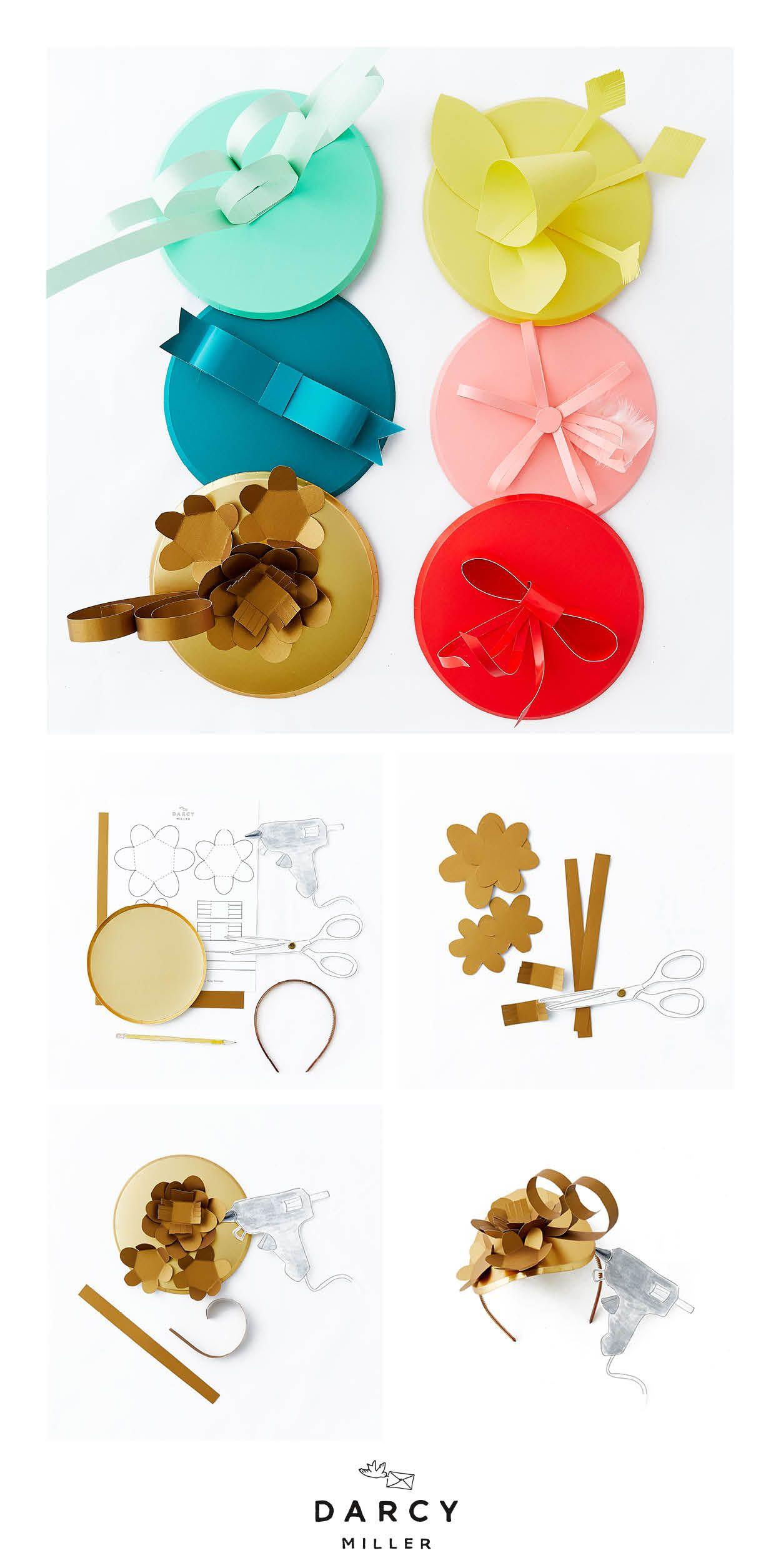 Make Your Own Hat Bar Idea - Darcy Miller Designs