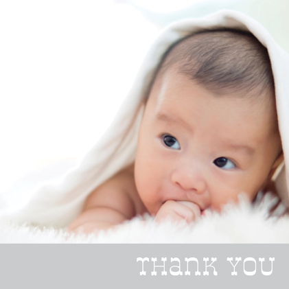thank you thank you cards for baby gifts baby showers