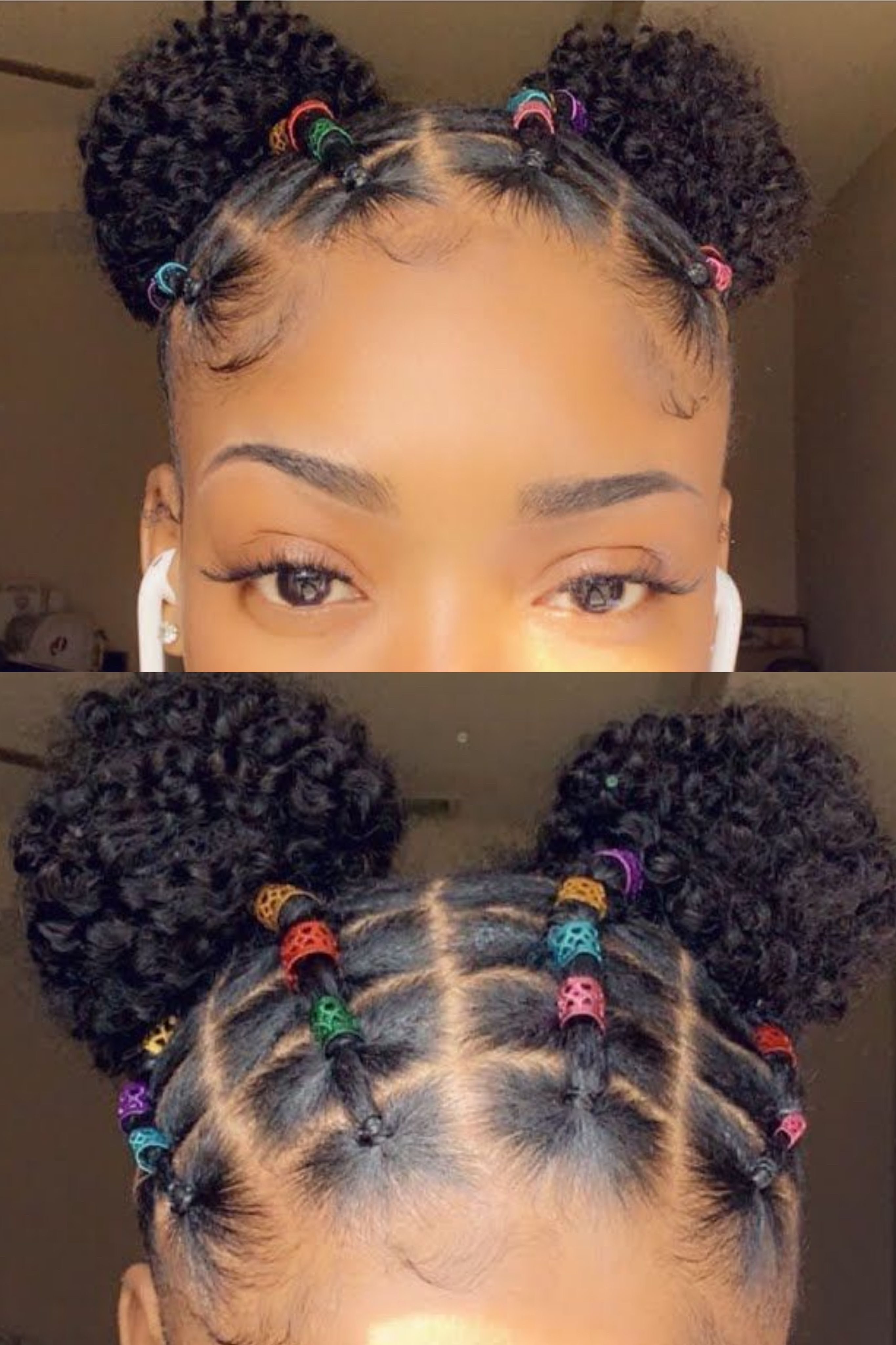 Easy Rubber Band Hairstyles on Natural Hair Worth Trying ...