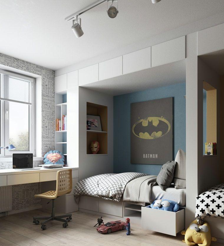 Dormitorios infantiles consejos sobre el dise o y la for Deco dormitorios infantiles