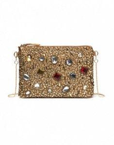 67f8b8d6c3 pochette-oro-con-pietre-dure-rosse   Passione borse   Pochette