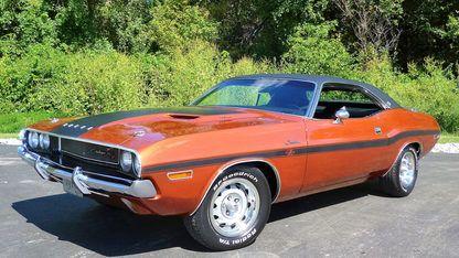 1970 Dodge Challenger Rt Se 440torqueflite Burnt Orange Metallic