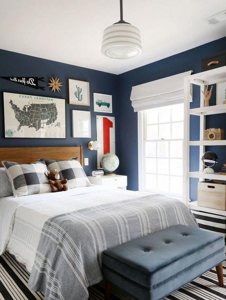 46 Cool Astonishing Bedroom Design Ideas For Boys Bedroomdesign Bedroomforkids Small Master Bedroom Small Master Bedroom Decorating Ideas Boy Bedroom Design